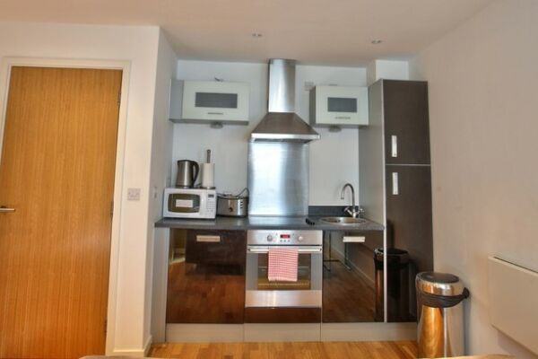 The Gateway Serviced Apartments in Leeds, Kitchen