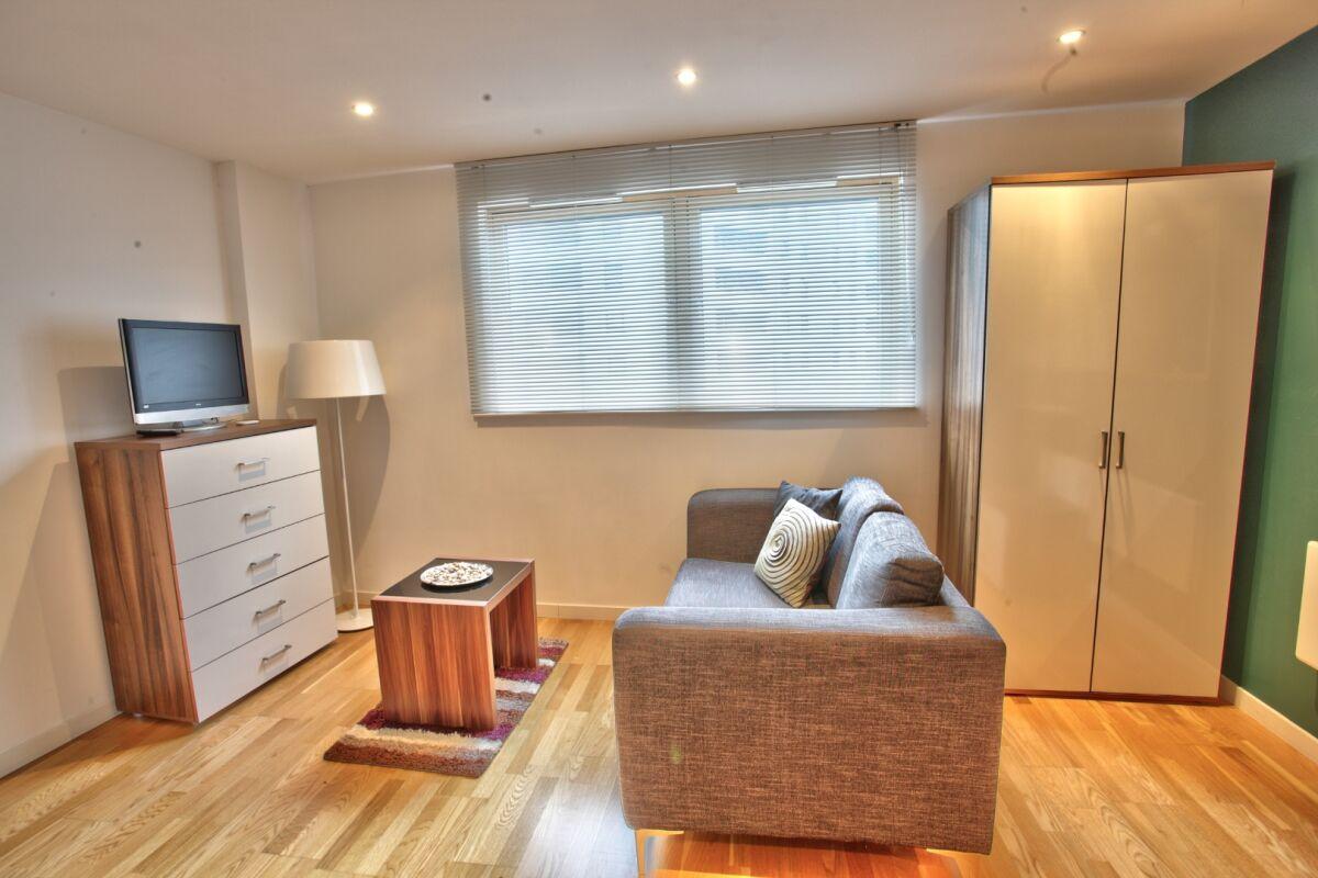 Living Area, Gateway Serviced Apartments, Leeds