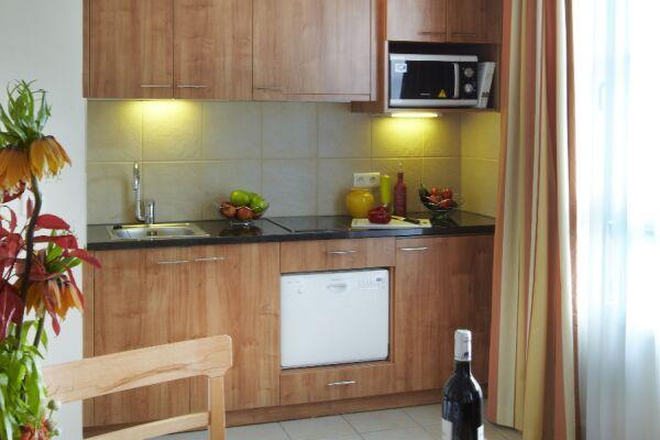 Kitchen and Dining Area, Saint Germain des Pres Serviced Apartments, Paris
