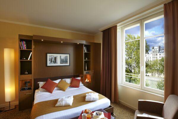 Bedroom, Saint Germain des Pres Serviced Apartments, Paris