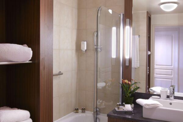 Bathroom, Saint Germain des Pres Serviced Apartments, Paris