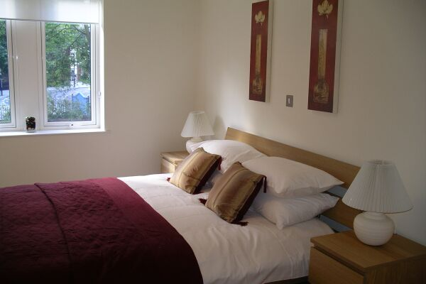 Bedroom, St Nicholas Court Serviced Apartments, Ipswich