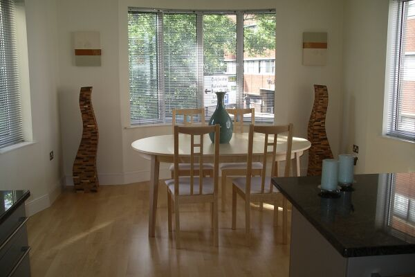 Dining Area, St Nicholas Court Serviced Apartments, Ipswich
