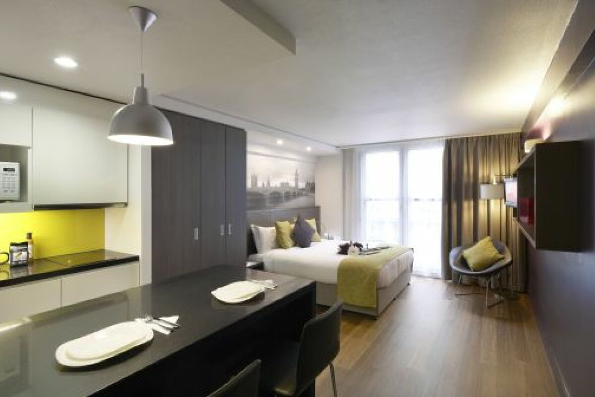 Studio, Trafalgar Square Serviced Apartments, Central London