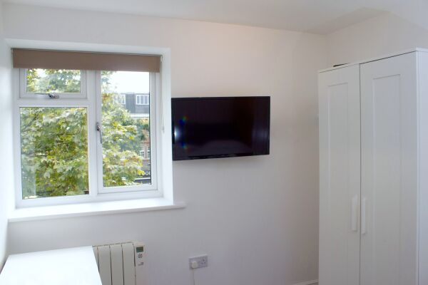 Living Area, Bowman's Mew Serviced Apartments, Islington, London