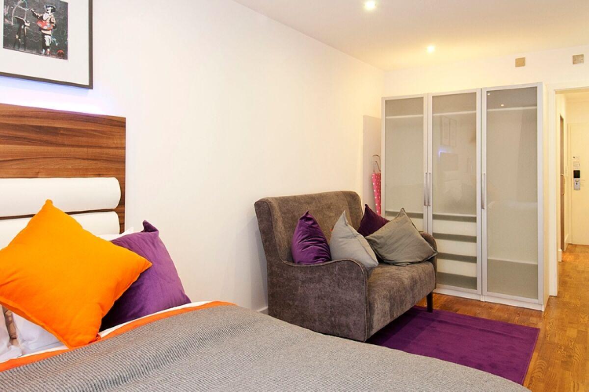 Studio, Camden Road Serviced Apartments, London