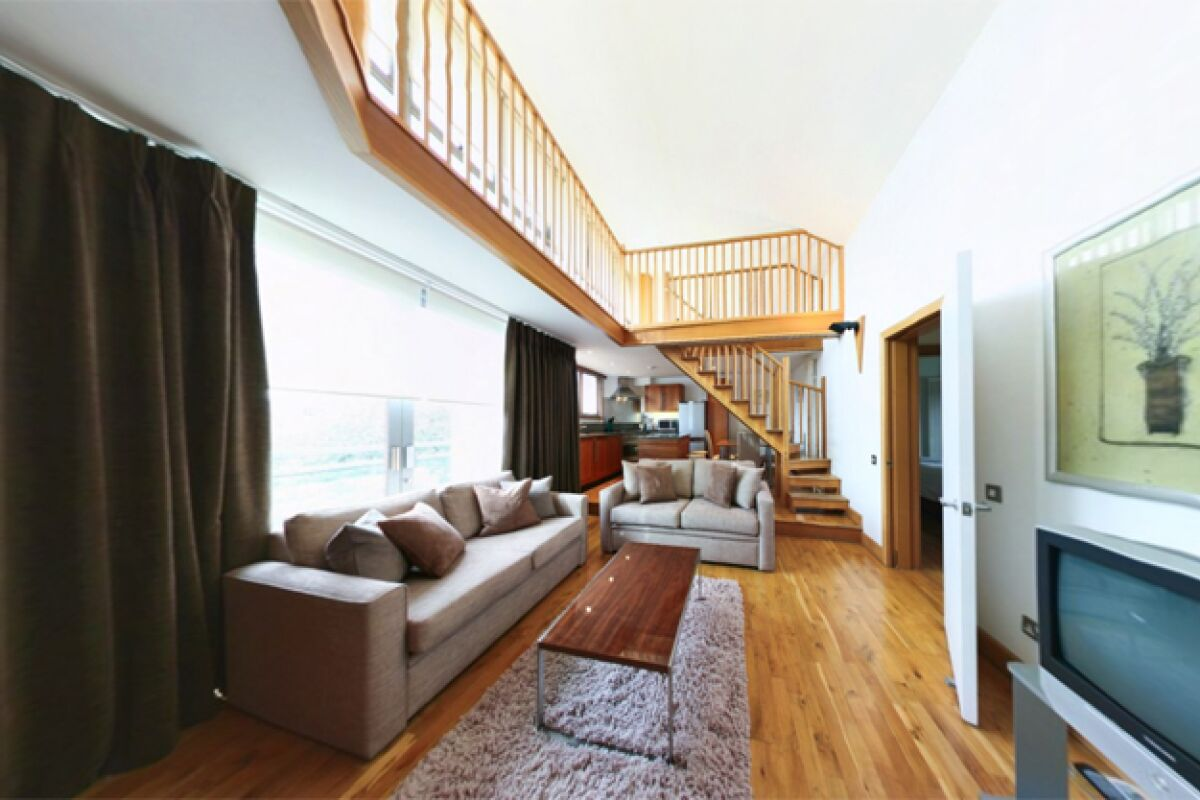 Living Room, Tower Bridge Serviced Apartments, Bermondsey, London