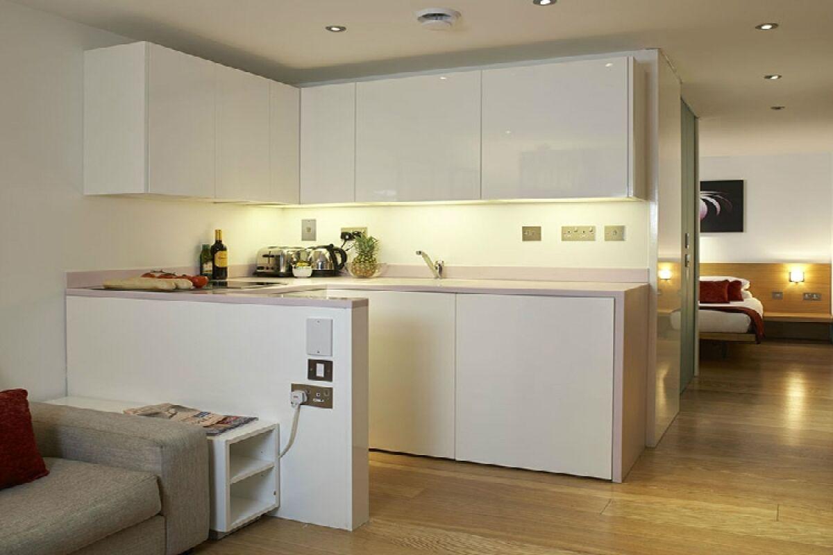 Kitchen, Bermondsey Street Serviced Apartments, London