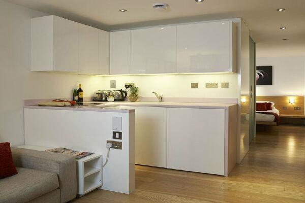 Kitchen, Bermondsey Street Serviced Apartments, London - thumbnail