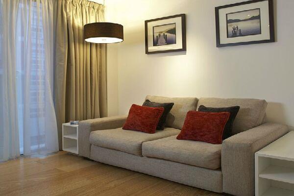 Living Room, Bermondsey Street Serviced Apartments, London - thumbnail