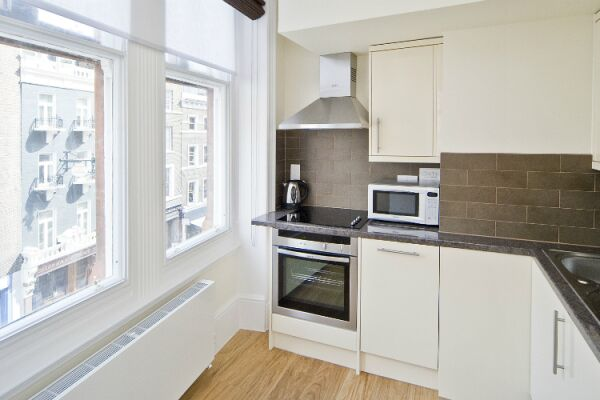 Kitchen, St Martins Court Serviced Apartments, Covent Garden, London
