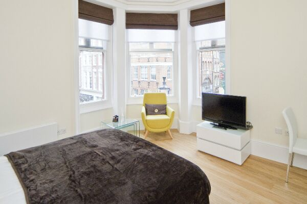 Bedroom, St Martins Court Serviced Apartments, Covent Garden, London