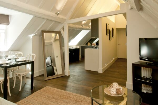 Living Room, College Hill Serviced Apartments, The City of London