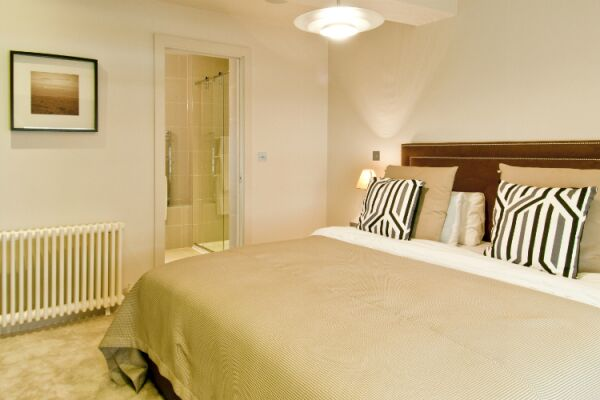 Bedroom, College Hill Serviced Apartments, The City of London
