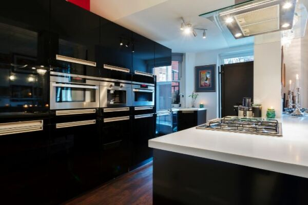 Kitchen, Draycott Place Serviced Apartment, Chelsea, London
