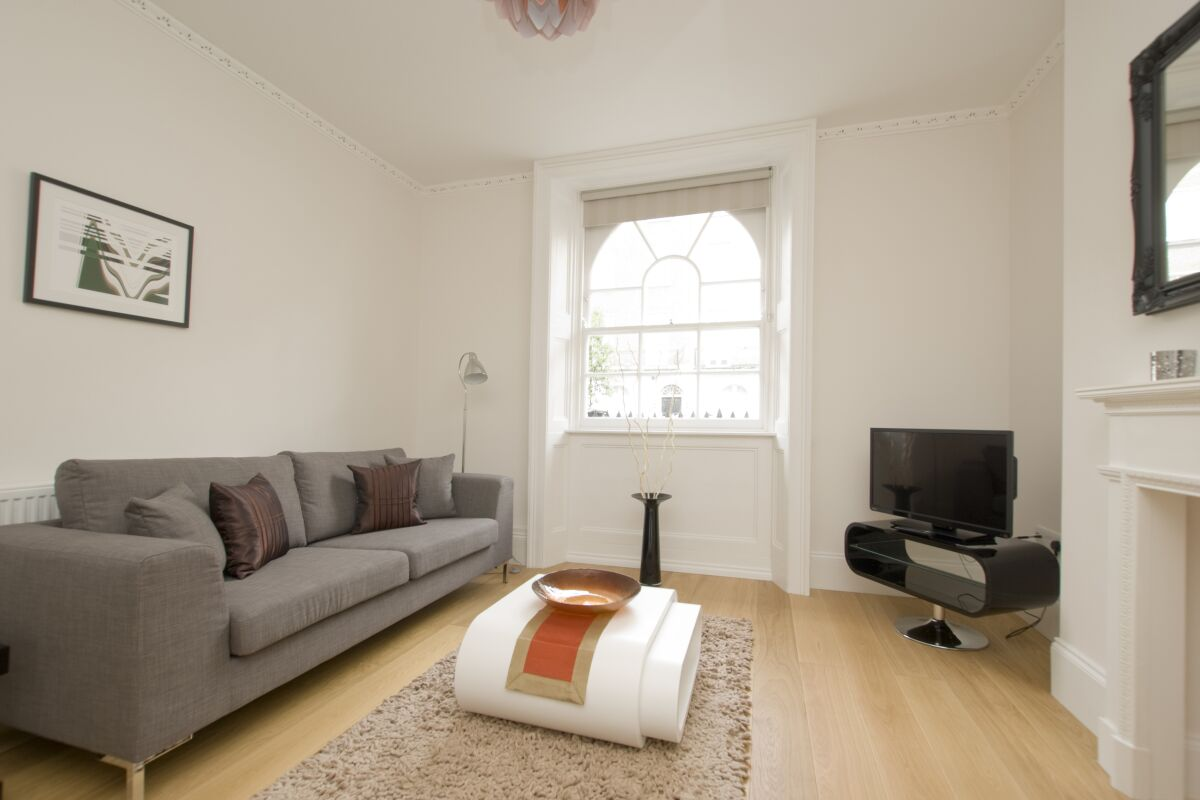 Living Room, Gloucester Serviced Apartments, Marylebone, London