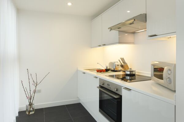 Kitchen, York Road Serviced Apartments, Lambeth, London