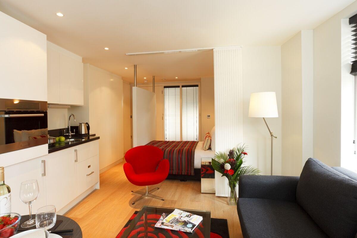 Studio, Fleet Street Serviced Apartments, Temple, London