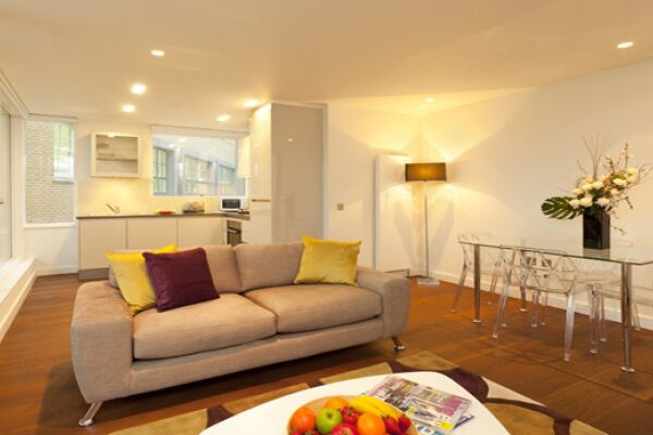 Living Room, St Martin's Serviced Apartments, Covent Garden, London