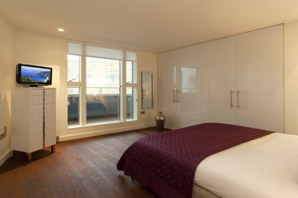 Bedroom, St Martin's Serviced Apartments, Covent Garden, London