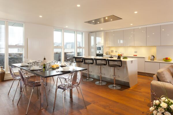Kitchen, St Martin's Serviced Apartments, Covent Garden, London