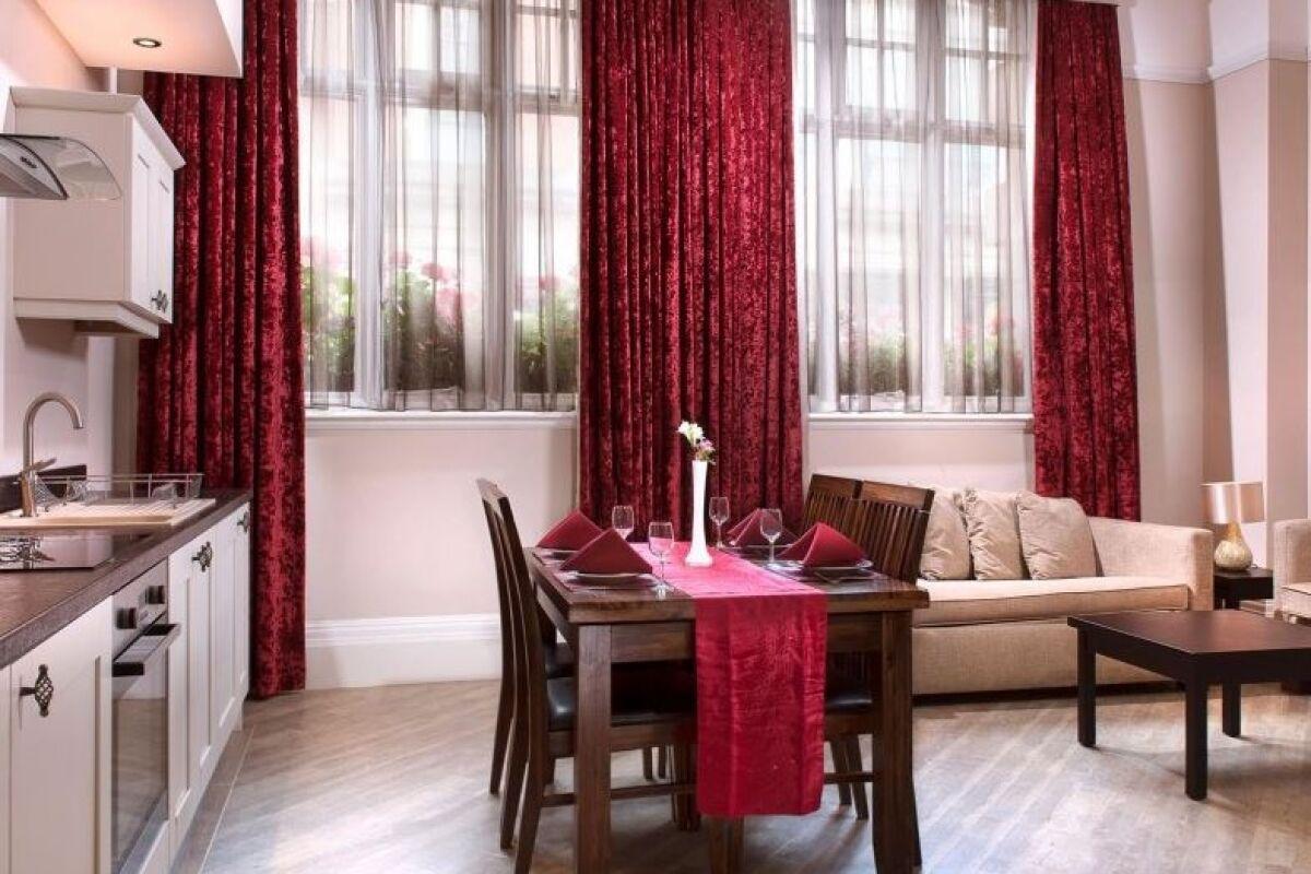 Dining Area, Hatton Garden Serviced Apartments, Liverpool