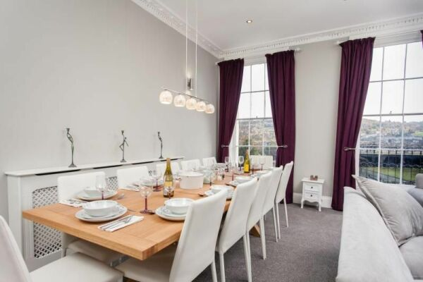 Dining Area, Haystack Serviced Accommodation, Bath