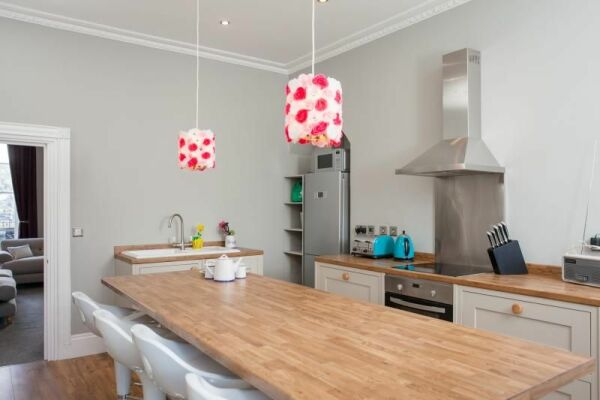Kitchen, Haystack Serviced Accommodation, Bath
