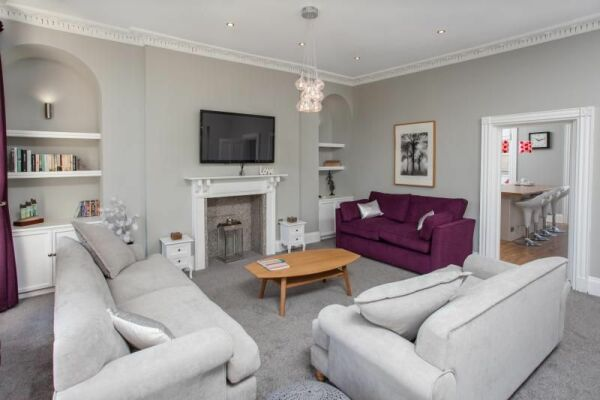 Living Area, Haystack Serviced Accommodation, Bath