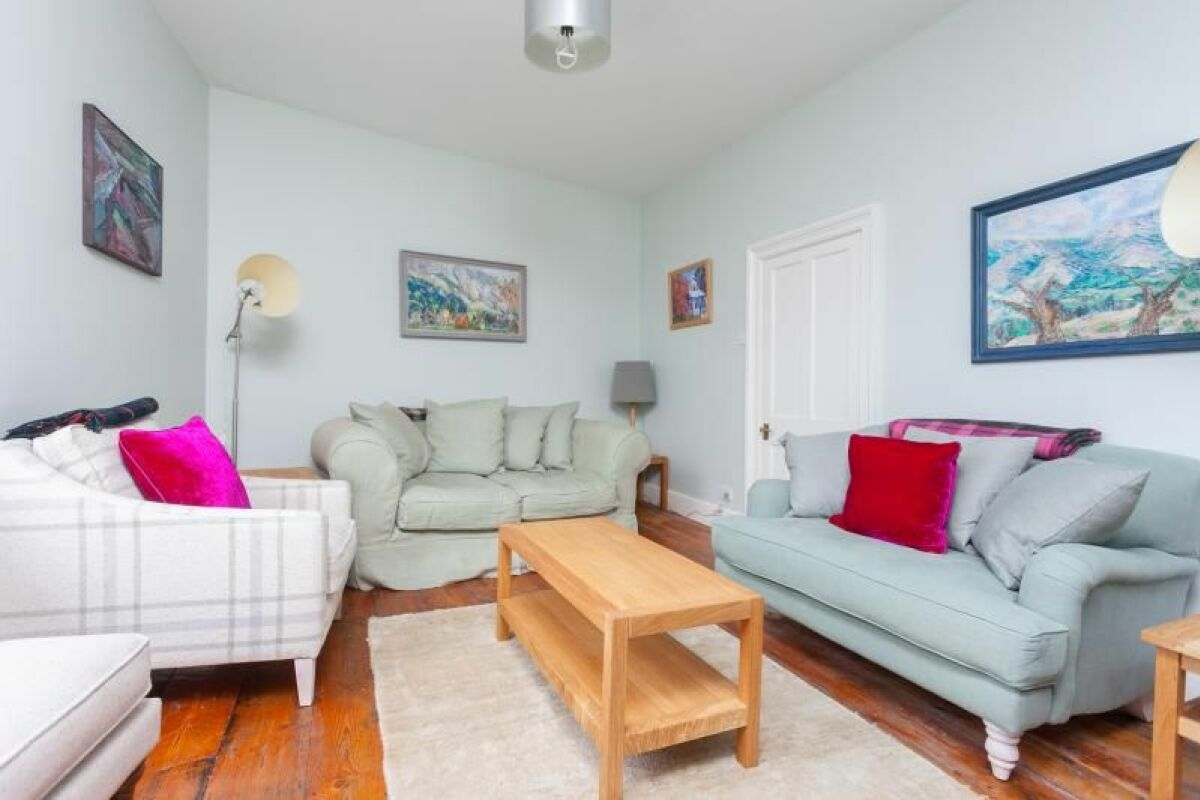 Living Area, Hatfield House Serviced Accommodation, Bath