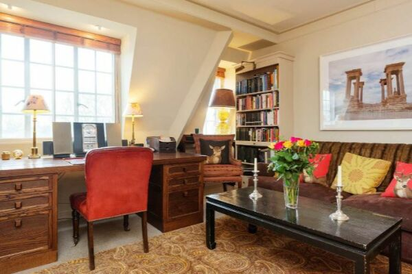 Living Area, Kings Road Serviced Apartment, Chelsea