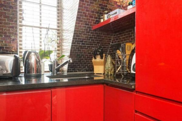 Kitchen, Kings Road Serviced Apartment, Chelsea