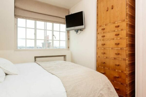 Bedroom, Kings Road Serviced Apartment, Chelsea