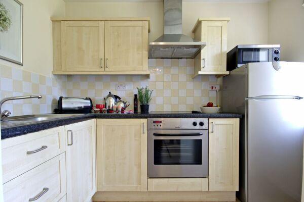 Kitchen, Boxford Ridge Studios Serviced Apartments, Bracknell