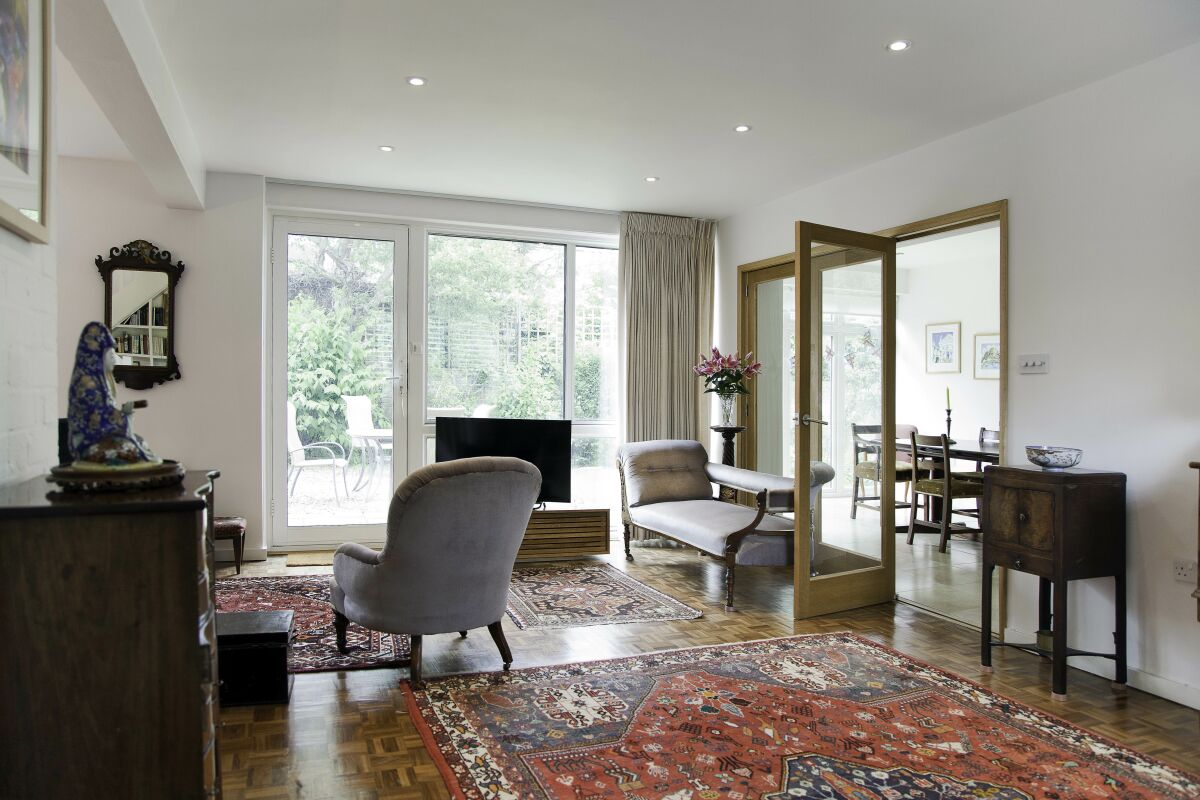 Living Area, Rayners Road Serviced Apartments, Putney