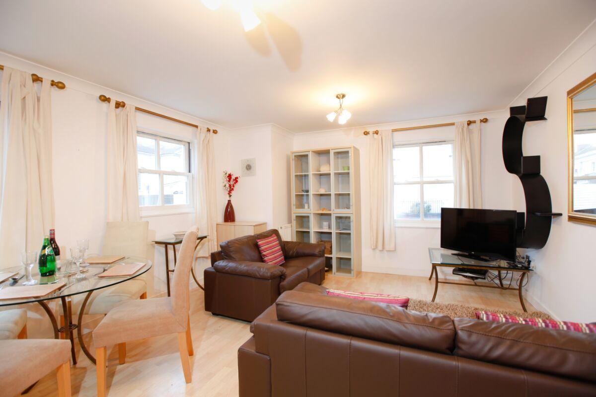 Living Area, Packington Place Serviced Apartment, Leamington Spa