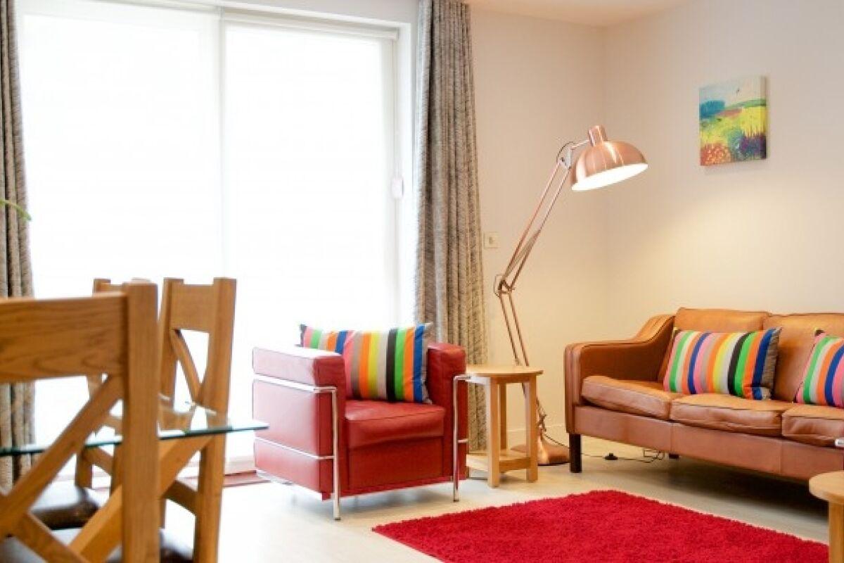 Living Area, Vesta Northern Serviced Apartments, Cambridge