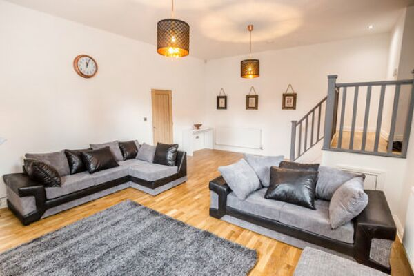 Living Area, Apollo Serviced Apartments, Huddersfield