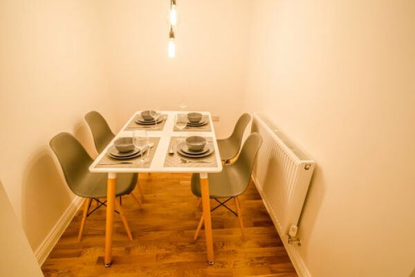 Dining Area, Apollo Serviced Apartments, Huddersfield