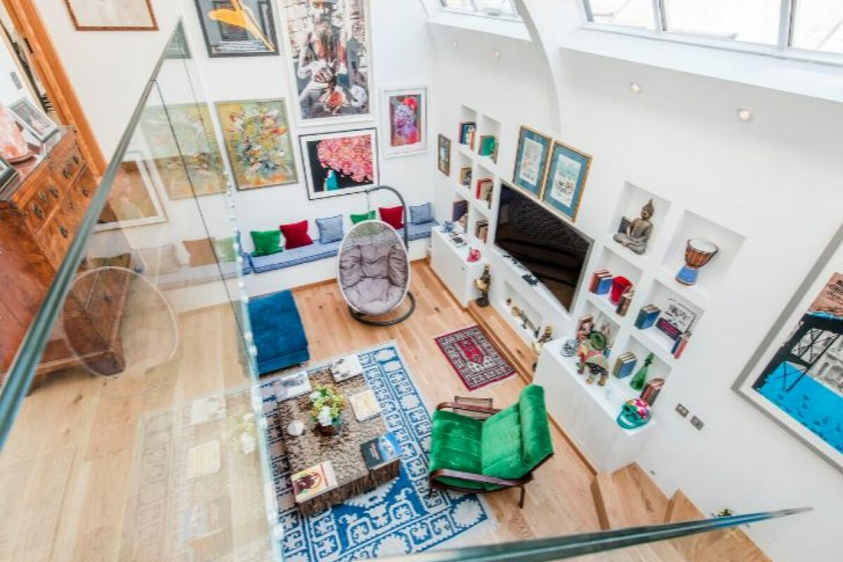 Living Area, Gunter Grove Serviced Accommodation, Chelsea, London