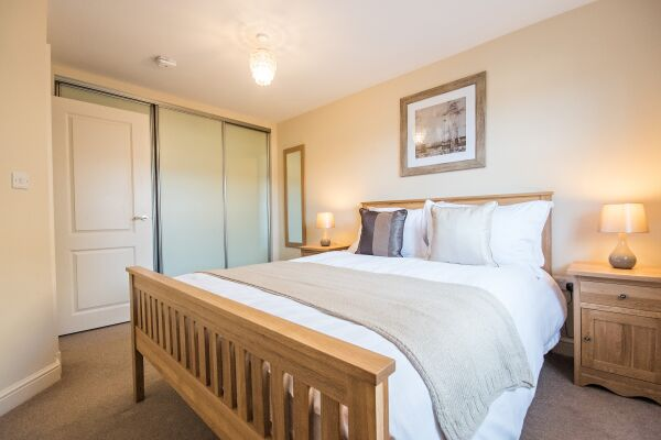 Bedroom, Abbey Street House Serviced Accommodation, Cambridge
