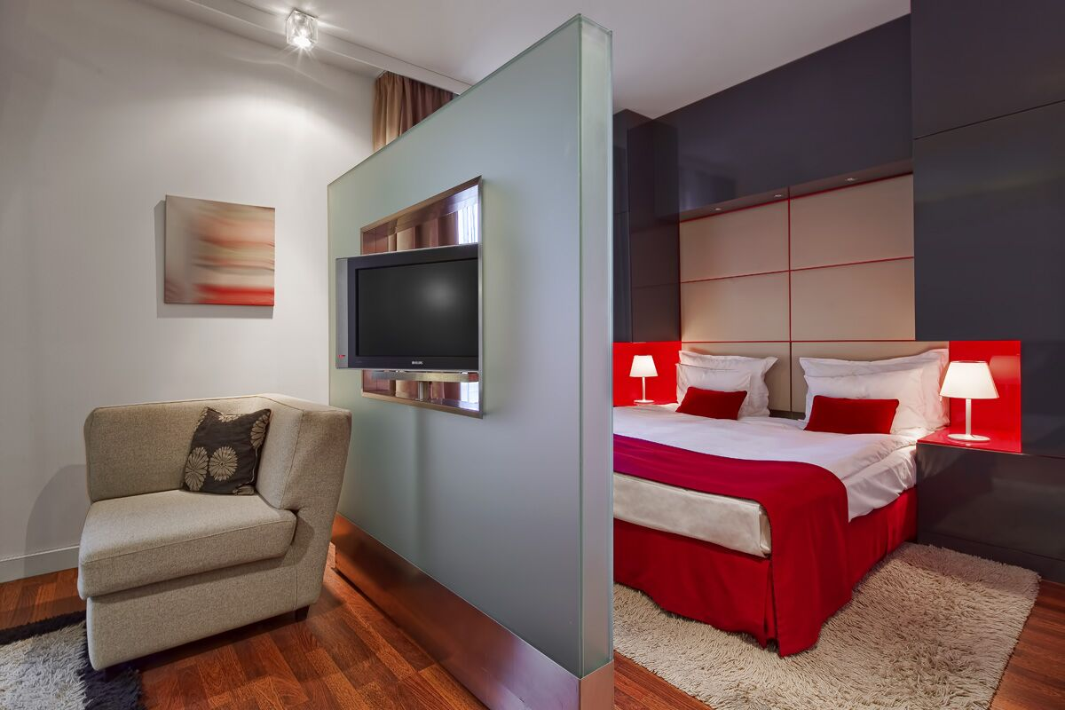 Bedroom, Pokrovka Serviced Apartments, Moscow