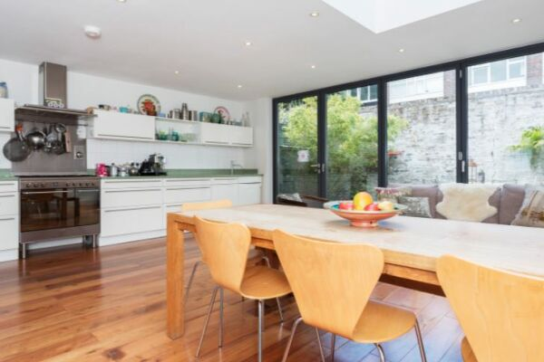 Kitchen, Woodsome Road Serviced Apartments, Highgate, London