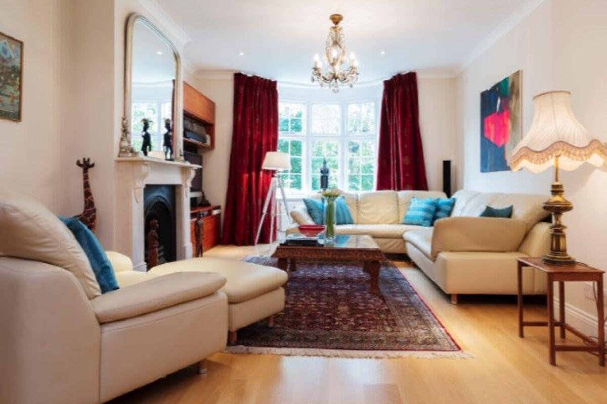 Living Area, Swains Lane Serviced Accommodation, Highgate, London
