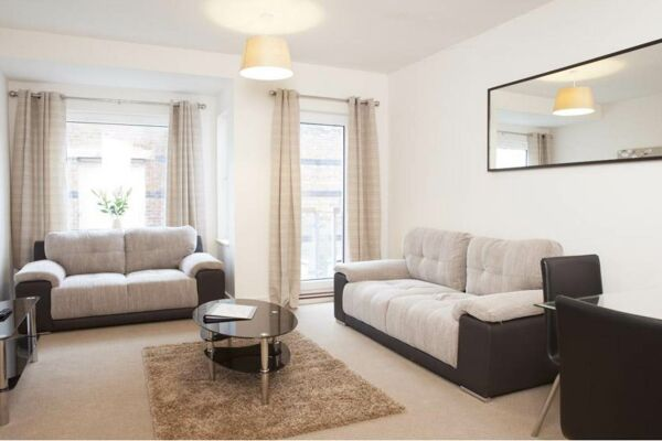 Lounge Area, The Coliseum Serviced Apartments, Cheltenham