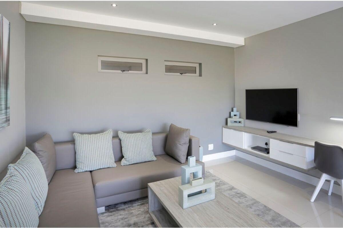 Living Area, Bath Avenue Serviced Apartments, Johannesburg