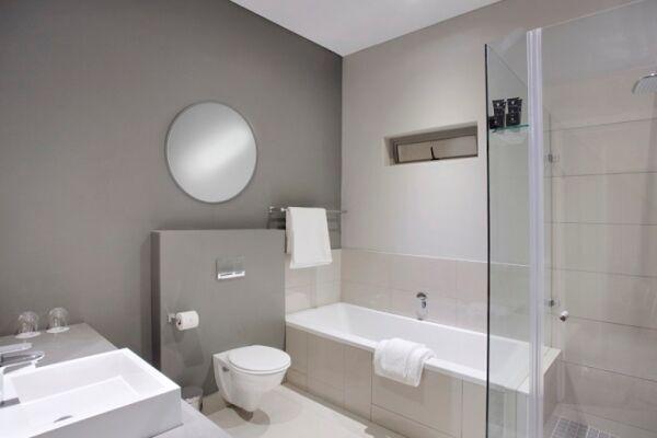 Bathroom, Bath Avenue Serviced Apartments, Johannesburg
