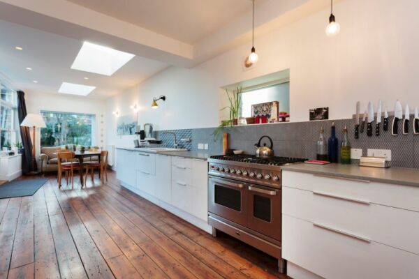 Kitchen, Mercers Road Serviced Accommodation, Tufnell Park, London