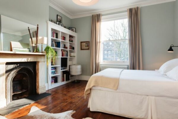 Bedroom, Mercers Road Serviced Accommodation, Tufnell Park, London