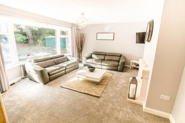 Living Area, Sunnyside Serviced Accommodation, Huddersfield